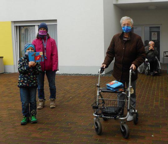 Besuch im Altenheim Michaelishof