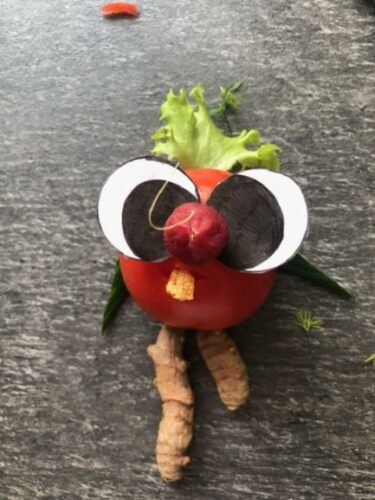 Küchen-Kunst im Homeschooling
